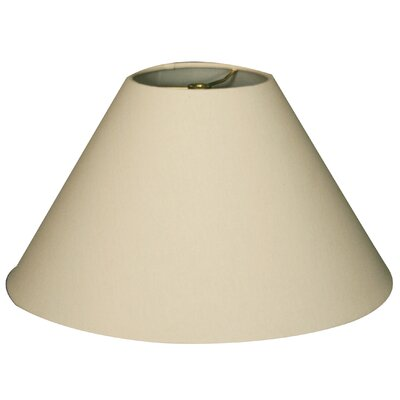 Timeless Coolie 16 Linen Empire Lamp Shade Color: Linen Eggshell