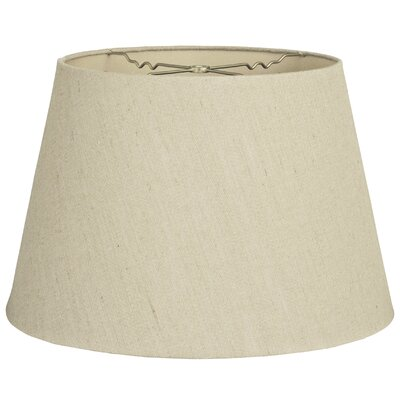 Timeless Tapered 12 Linen Empire Lamp Shade Color: Linen Beige