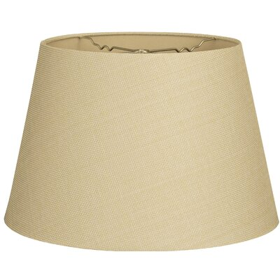 Timeless Tapered 13 Linen Empire Lamp Shade Color: Linen French