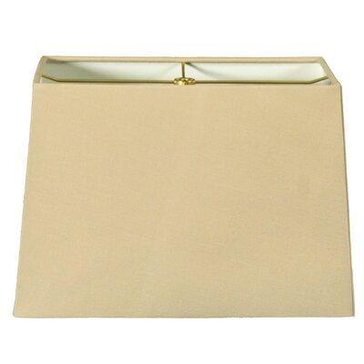 Timeless 8 Shantung Rectangular Lamp Shade Color: Linen Beige