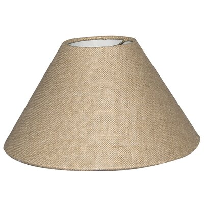 Timeless Coolie 18 Linen Empire Lamp Shade Color: Burlap