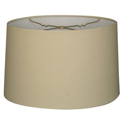 Timeless 18 Linen Drum Lamp Shade Color: Linen Eggshell