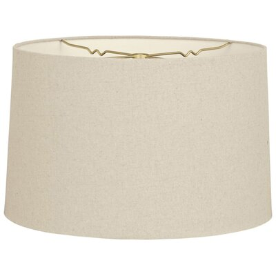 Timeless 14 Shantung Drum Lamp Shade Color: Linen Beige