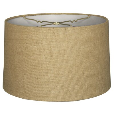 Timeless 10 Shantung Drum Lamp Shade Color: Burlap