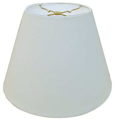 Timeless Deep 16 Linen Empire Lamp Shade Color: Linen White