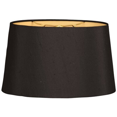 Timeless 10 Shantung Empire Lamp Shade Color: Black