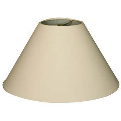 Timeless Coolie 20 Linen Empire Lamp Shade Color: Linen Eggshell