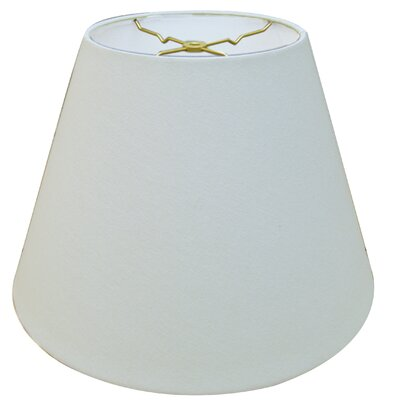 Timeless Deep 14 Linen Empire Lamp Shade Color: Linen White