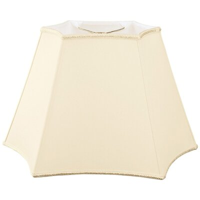 Timeless 18 Silk/Shantung Novelty Lamp Shade Color: Beige
