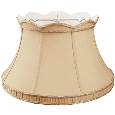 Timeless 17 Silk/Shantung Bell Lamp Shade Color: Gypsy Gold