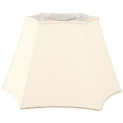 Timeless 16 Silk/Shantung Novelty Lamp Shade Color: Eggshell