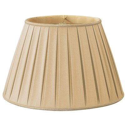 Timeless 20 Silk/Shantung Empire Lamp Shade Color: Gypsy Gold