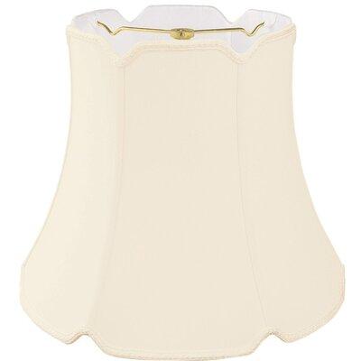 Timeless 18 Silk Bell Lamp Shade Color: Eggshell