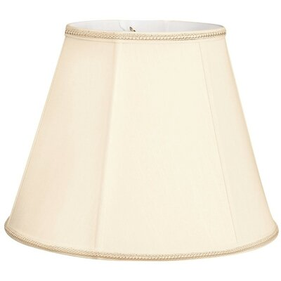 Timeless 12 Silk/Shantung Empire Lamp Shade Color: Eggshell/Off-White