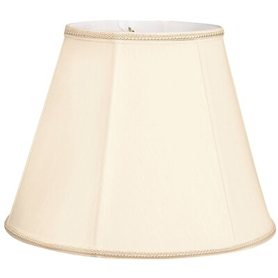 Timeless 10 Silk/Shantung Empire Lamp Shade Color: Eggshell/Off-White