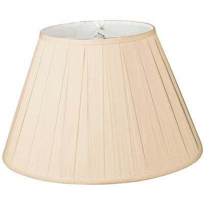 Timeless 14 Silk/Shantung Empire Lamp Shade Color: Sand