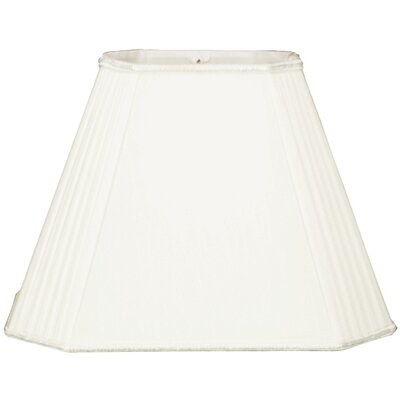 Timeless 10 Silk/Shantung Empire  Lamp Shade Color: White