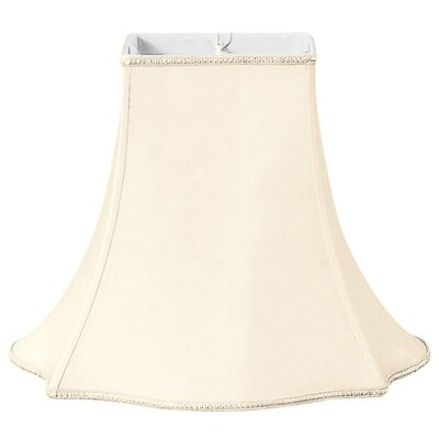 Timeless 12 Silk/Shantung Bell Lamp Shade Color: Eggshell/Off-White