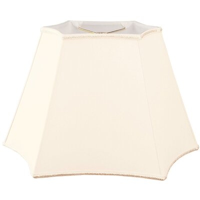 Timeless 10 Silk/Shantung Novelty Lamp Shade Color: Eggshell
