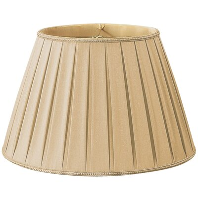 Timeless 18 Silk/Shantung Empire Lamp Shade Color: Gypsy Gold