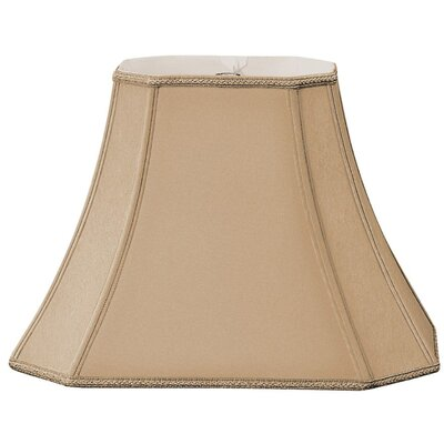 Timeless 18 Silk/Shantung Bell Lamp Shade Color: Antique Gold