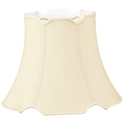 Timeless 18 Silk/Shantung Bell Lamp Shade Color: Beige