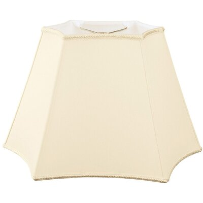 Timeless 12 Silk/Shantung Novelty Lamp Shade Color: Beige