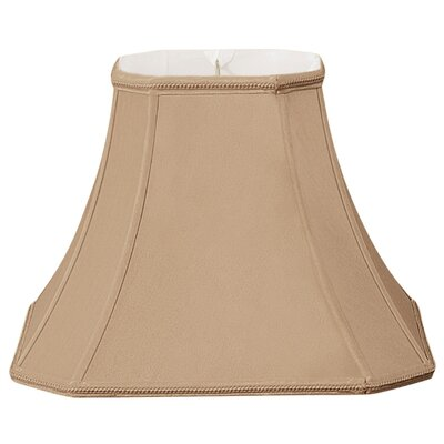 Timeless 16 Silk/Shantung Bell Lamp Shade Color: Antique Gold