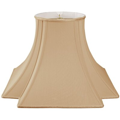 Timeless 14 Silk/Shantung Novelty Lamp Shade Color: Antique Gold/Off-White
