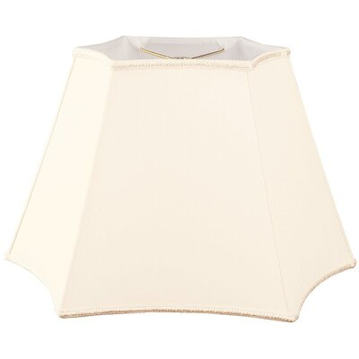 Timeless 18 Silk/Shantung Novelty Lamp Shade Color: Eggshell