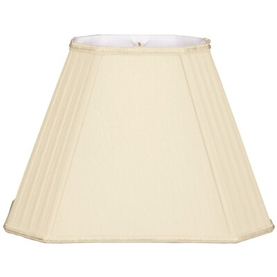 Timeless 12 Silk/Shantung Empire Lamp Shade Color: Beige