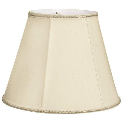 Timeless 14 Silk/Shantung Empire Lamp Shade Color: Beige/Off-White