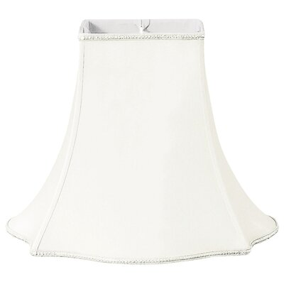 Timeless 12 Silk/Shantung Bell Lamp Shade Color: White/Off-White