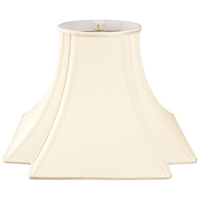 Timeless 12 Silk/Shantung Novelty Lamp Shade Color: Eggshell/Off-White