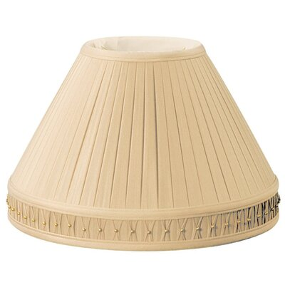 Timeless 14 Silk/Shantung Empire Lamp Shade Color: Gypsy Gold