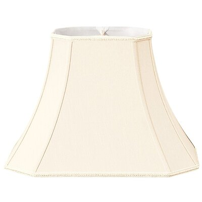 Timeless 16 Silk/Shantung Bell Lamp Shade Color: Eggshell