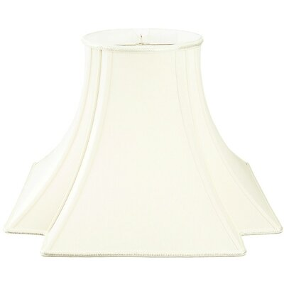 Timeless 18 Silk/Shantung Novelty Lamp Shade Color: White/Off-White