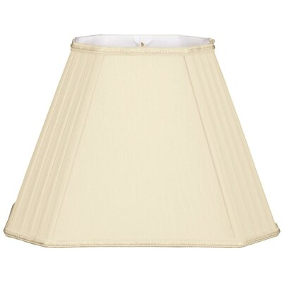 Timeless 14 Silk/Shantung Empire Lamp Shade Color: Beige