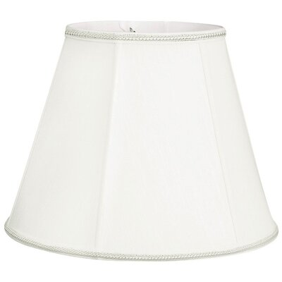Timeless 16 Silk/Shantung Empire Lamp Shade Color: White