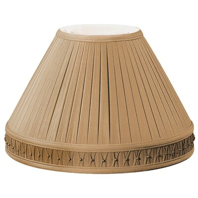 Timeless 14 Silk/Shantung Empire Lamp Shade Color: Antique Gold