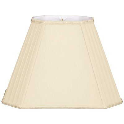 Timeless 16 Silk/Shantung Empire Lamp Shade Color: Beige