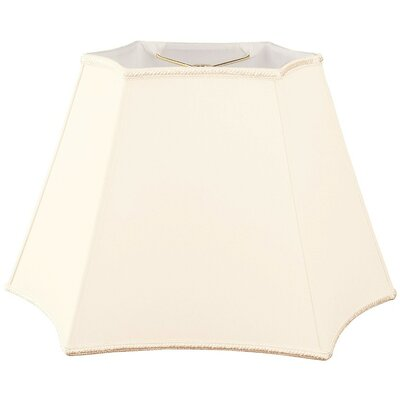 Timeless 14 Silk/Shantung Novelty Lamp Shade Color: Eggshell
