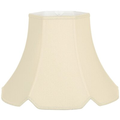 Timeless 12 Silk/Shantung Bell Lamp Shade Color: Beige