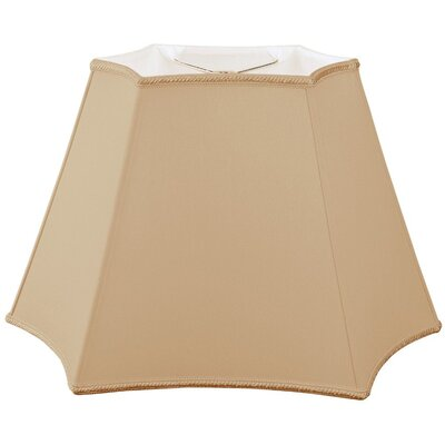 Timeless 16 Silk/Shantung Novelty Lamp Shade Color: Antique Gold