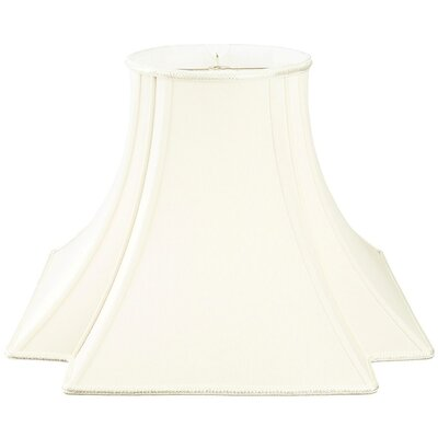 Timeless 12 Silk/Shantung Novelty Lamp Shade Color: White/Off-White