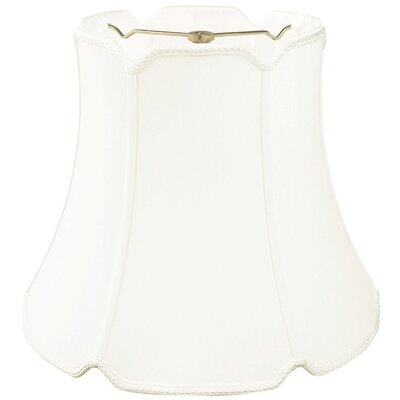 Timeless 18 Silk Bell Lamp Shade Color: White