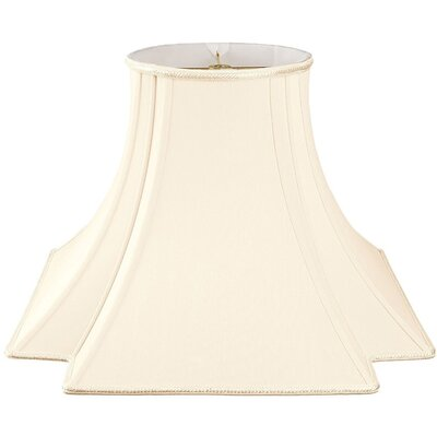 Timeless 16 Silk/Shantung Novelty Lamp Shade Color: Eggshell/Off-White