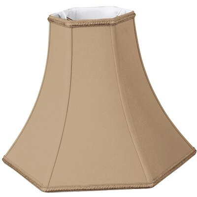 Timeless 10 Silk/Shantung Bell Lamp Shade Color: Antique Gold
