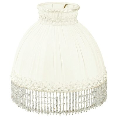Timeless 8 Silk/Shantung Novelty Lamp Shade Color: White