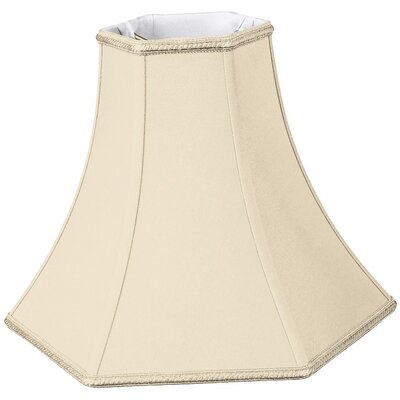 Timeless 8 Silk/Shantung Bell Lamp Shade Color: Beige
